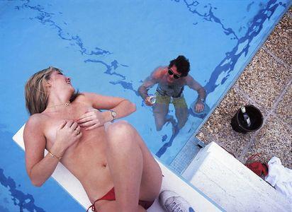 Cornelia Guest, Cap Ferrat, France, 1983