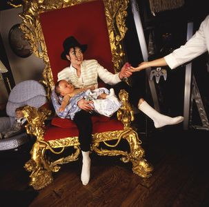 Michael Jackson and Prince, Neverland, 1997.