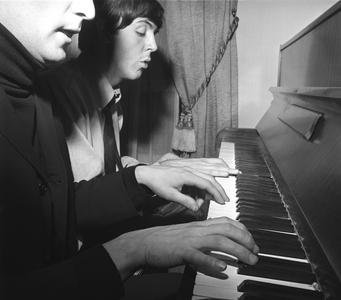 John and Paul, Paris, 1964