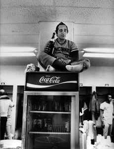 Johnny Bench, Cincinatti, Ohio, 1975.