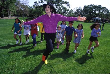 Michael Jackson, Neverland, California, 1993
