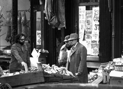 Brando and Coppola, The Godfather, New York, 1971