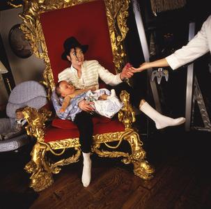 Michael Jackson and Prince, Neverland, 1997.