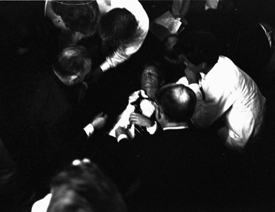 Senator Robert Kennedy, Los Angeles, 1968