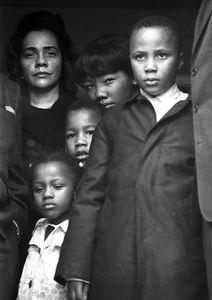 Mrs. Martin Luther King, Jr. and children, Atlanta, 1968