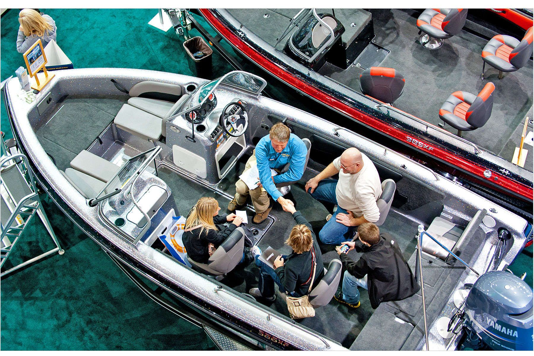 Sold with a Handshake - Minneapolis Boat Show