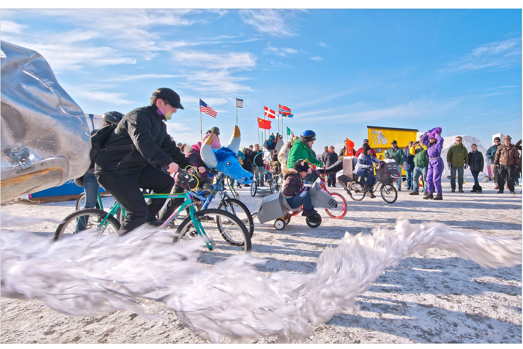 Art Shanty Project - Ice Rally Race