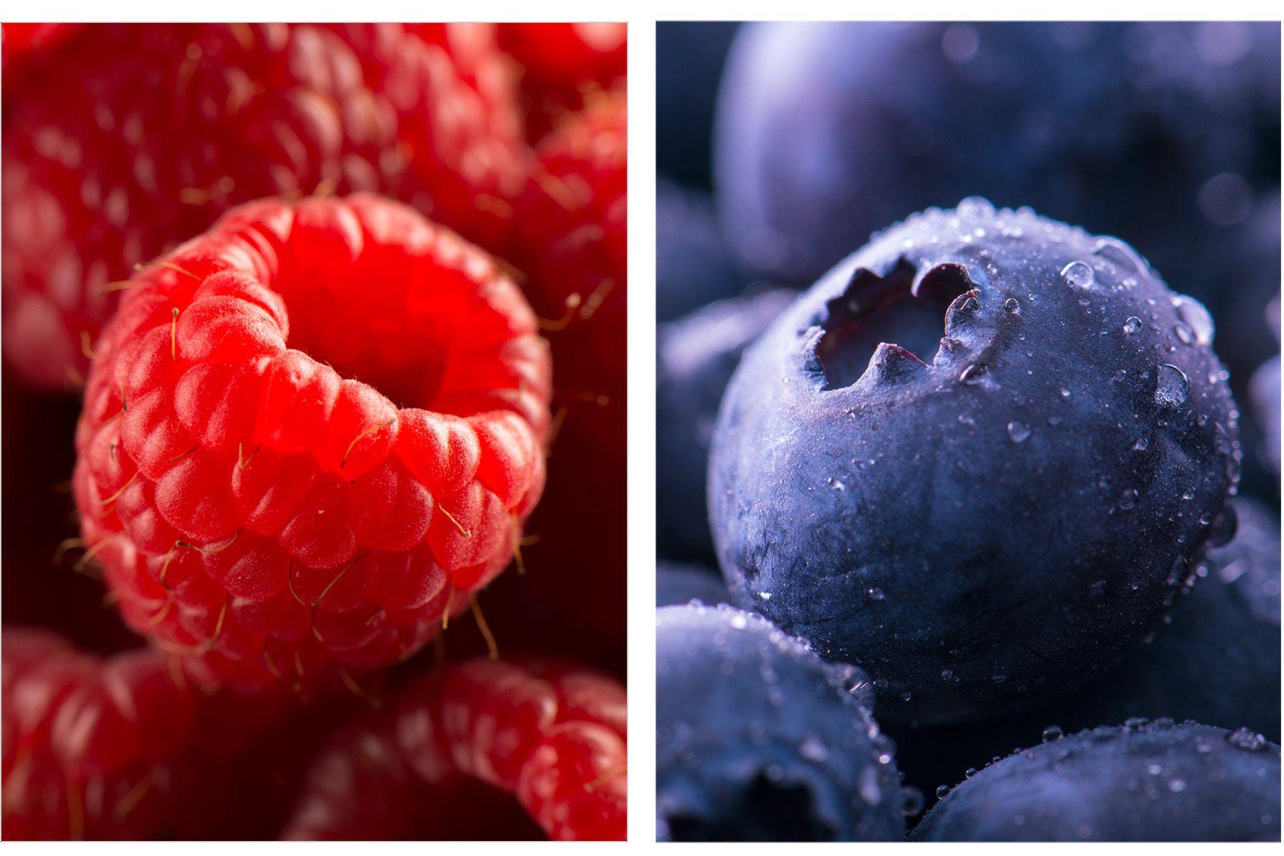 Raspberry / Blueberry