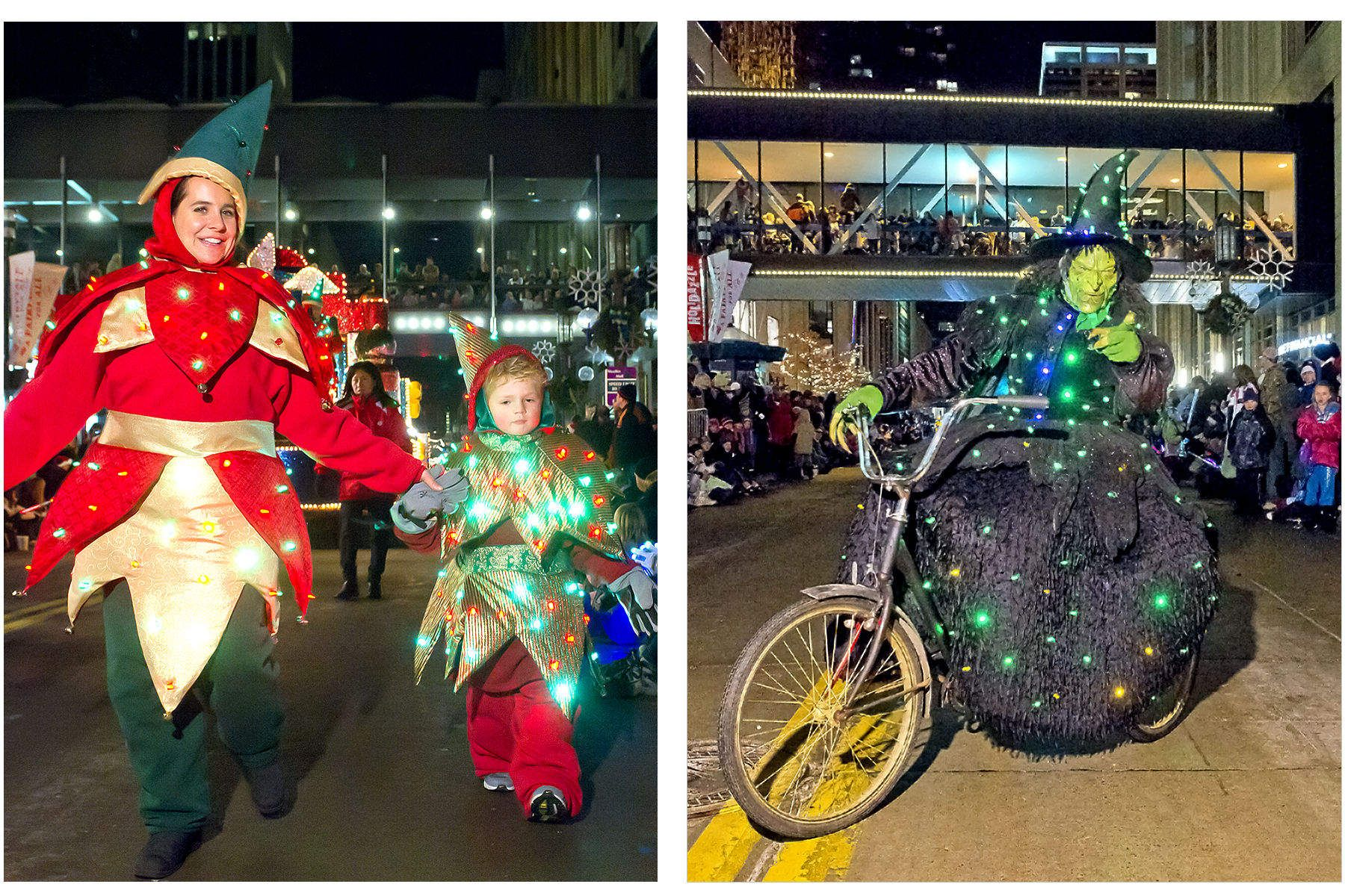 Holidazzle Parade Nicollet Mall