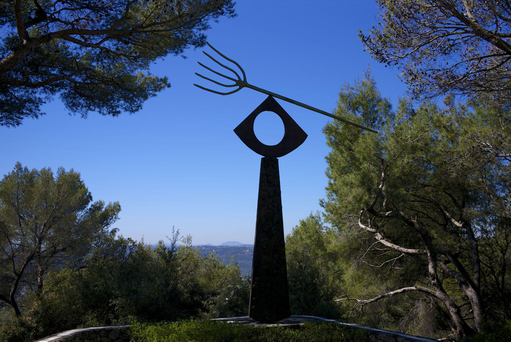 Miro Sculpture, Maeght Foundation, St. Paul de Vence