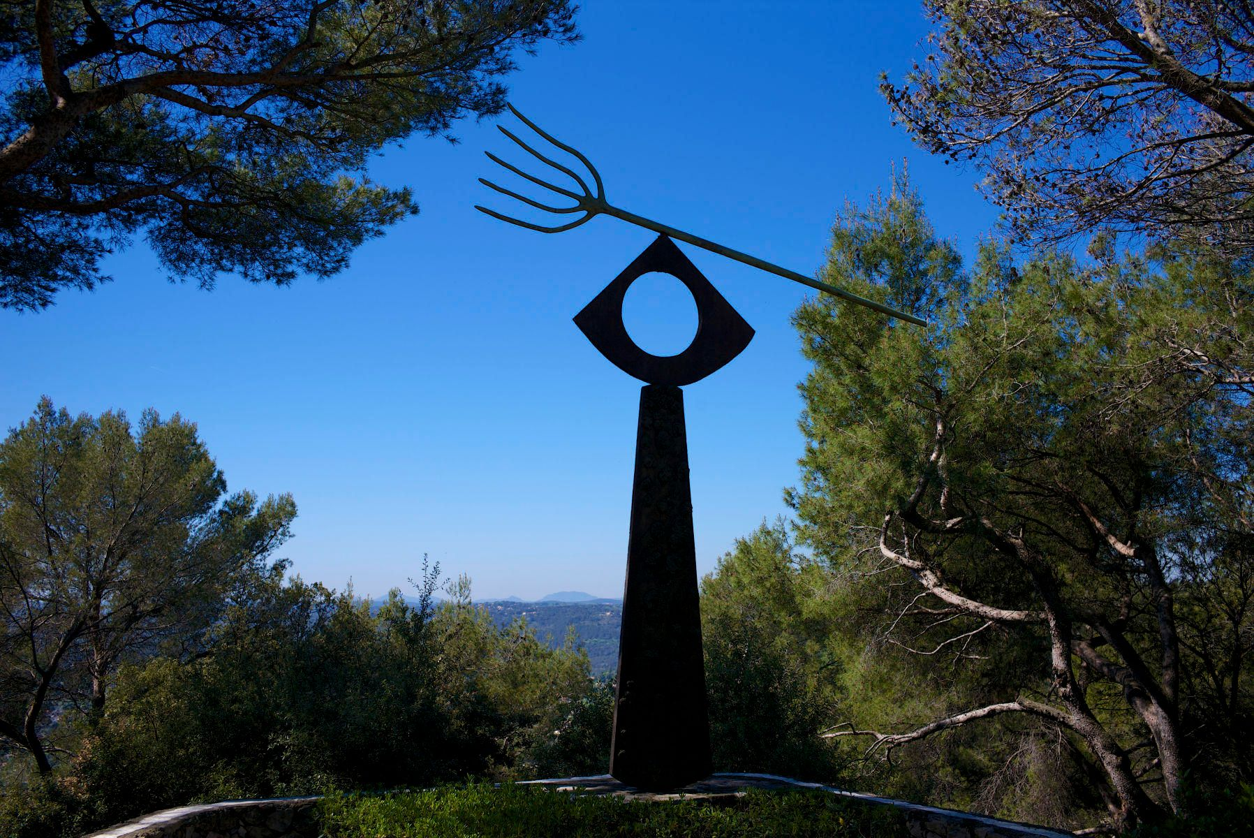 Miro Sculpture, Maeght Foundation, St. Paul de Vence