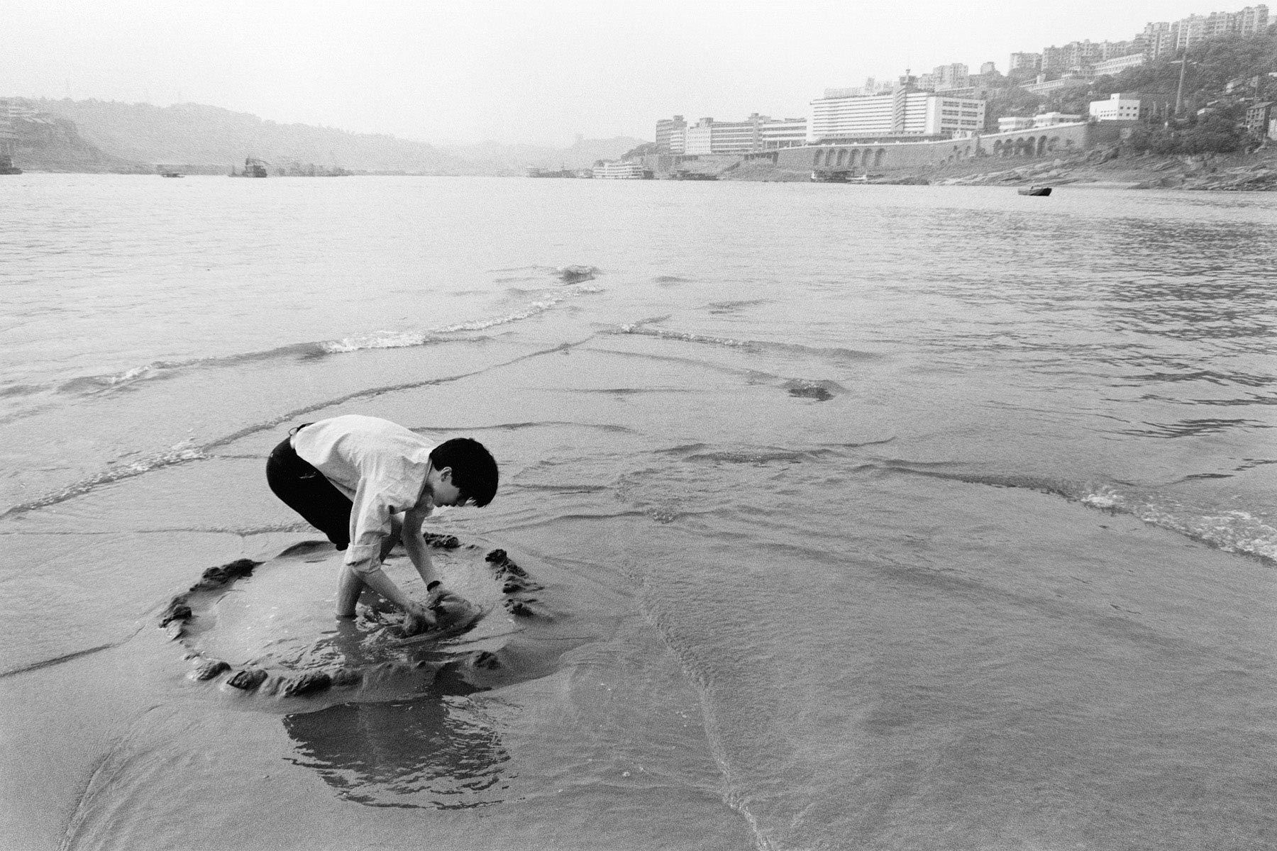 Fishing, Chongqing, China 1999