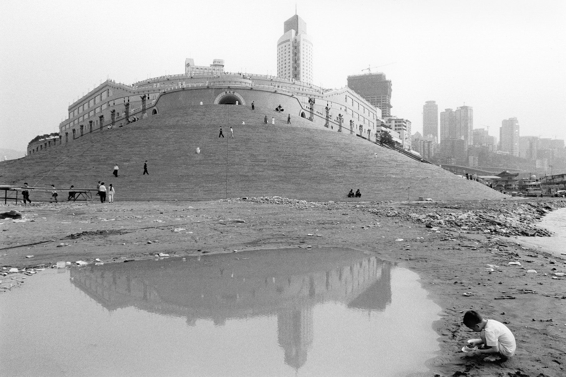 Chaotianmen-New Harbor, Chongqing City, China 1999