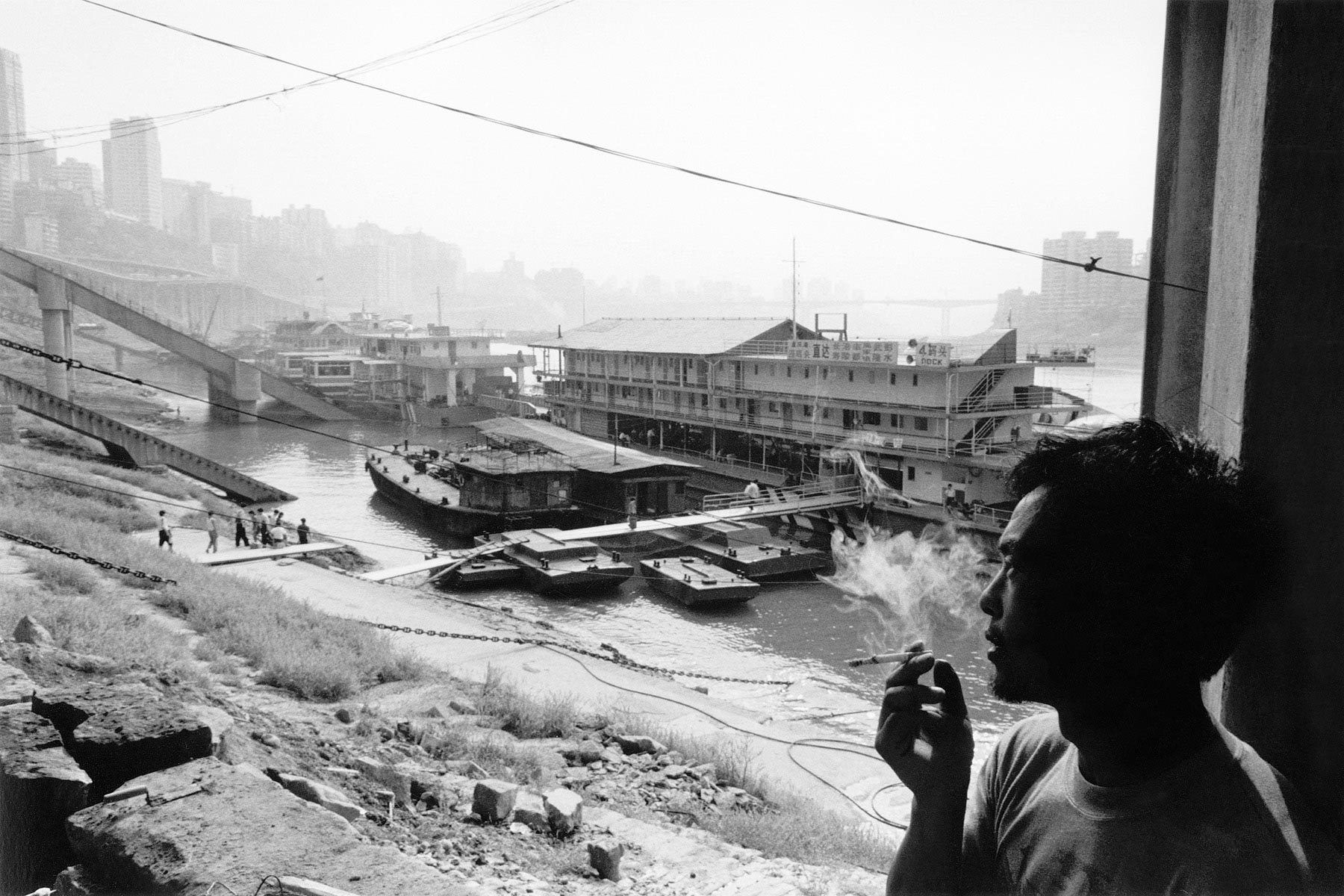 Smoking, Chongqing, China 1999