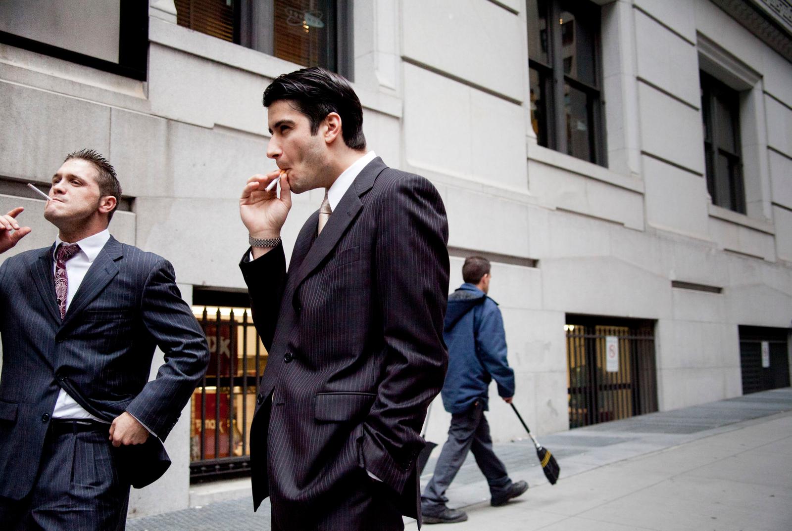 Wall Street and Nassau Street