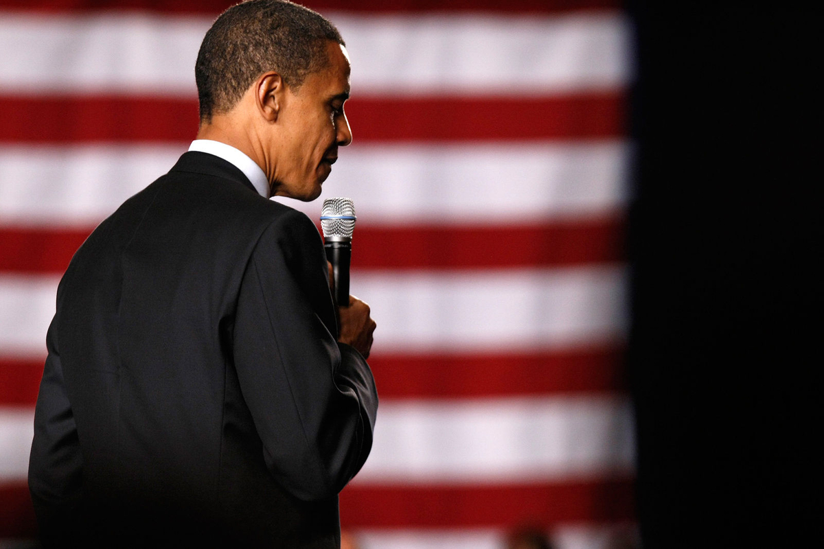 Presidential Candidate Barack Obama holds a fundraiser at the Grand Hyatt in New York City