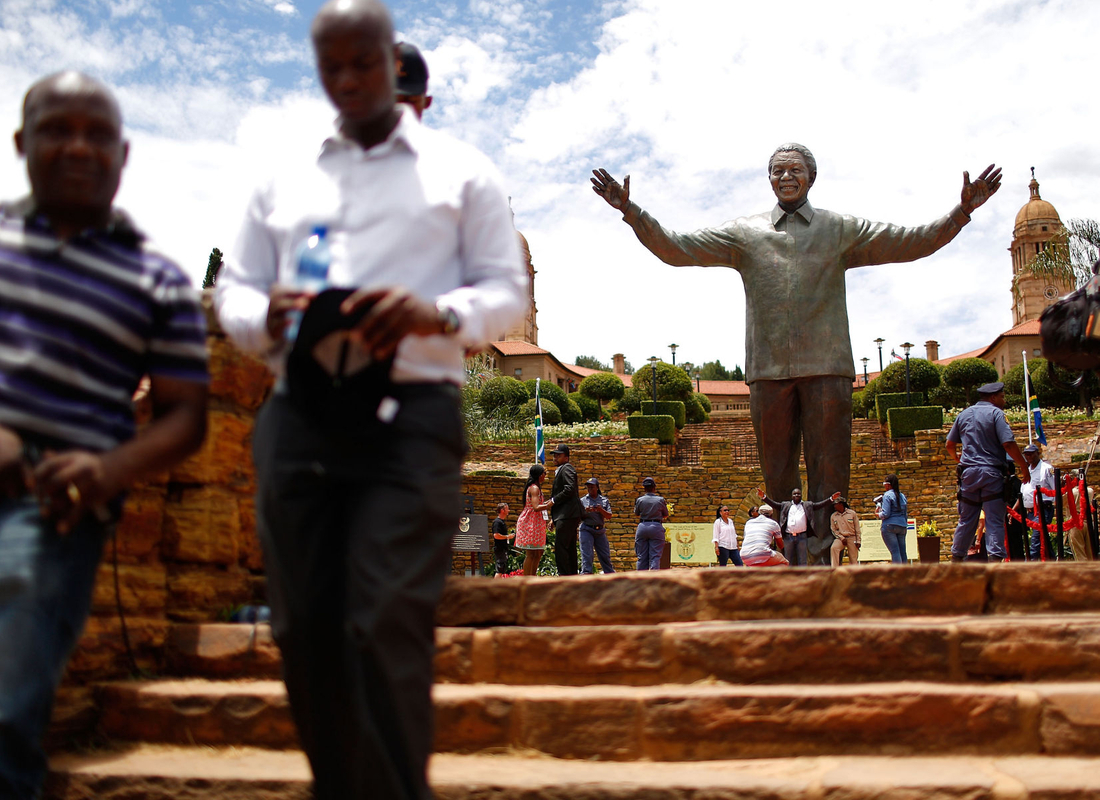 The Unveiling Of The Nelson Mandela Statue