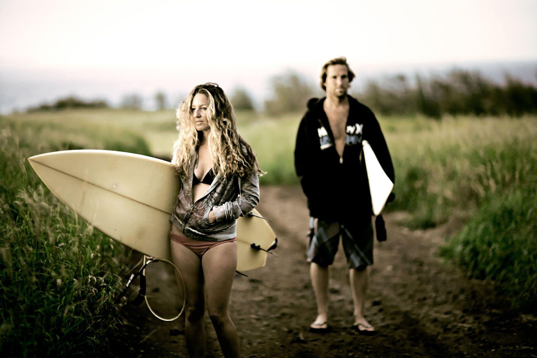 Apres surf. Maui, Hawaii