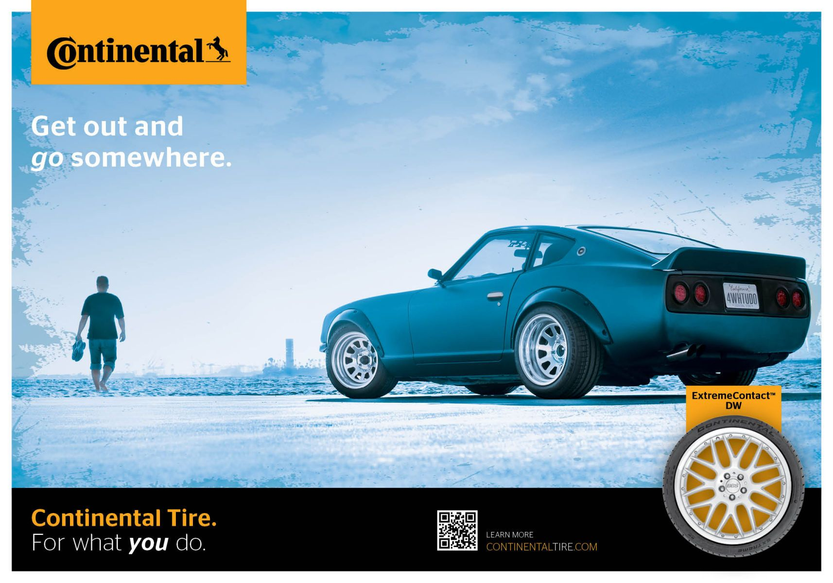 Continental Tire NA- Original Campaign Artwork