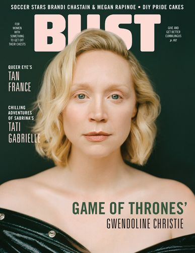 Gwendoline Christie  for Bust Magazine