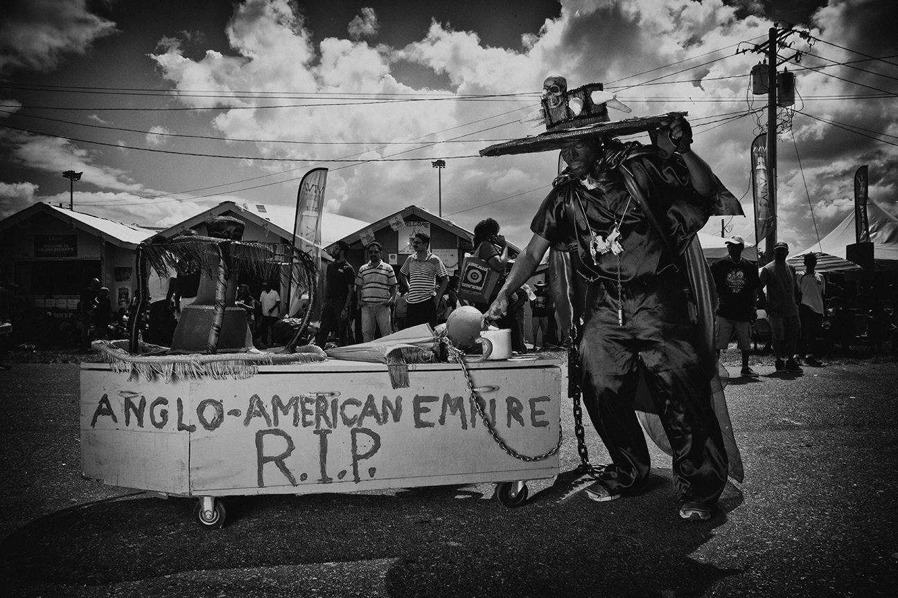 R.I.P. ANGLO AMERICAN EMPIRE - A Macabre Mas by John StollMeyer and Friends
