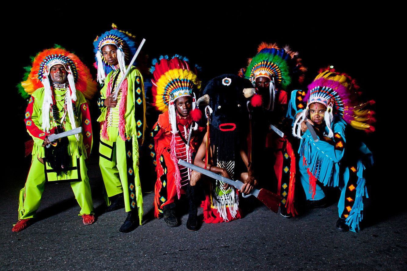 San Fernando (South Trinidad) Indian Mas Crew