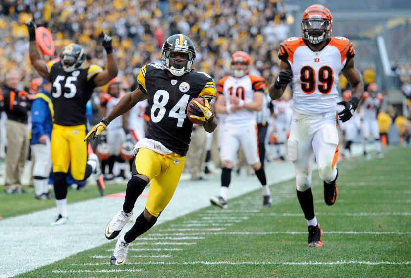 Antonio Brown,  Manny Lawson