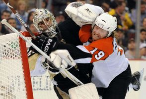 NHL: Stanley Cup Playoffs- Philadelphia Flyers at Pittsburgh Penguins
