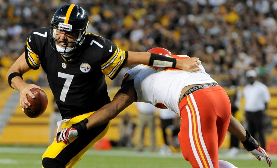 Ben Roethlisberger, Derrick Johnson
