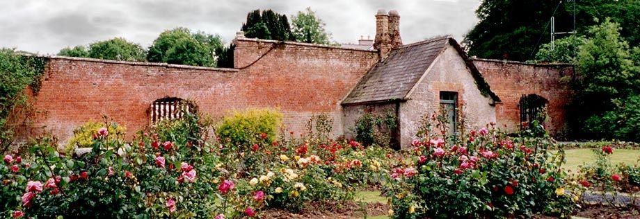 Walled Garden - Dromoland Castle Shannon Ireland