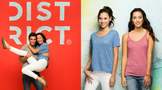 District clothing catalog