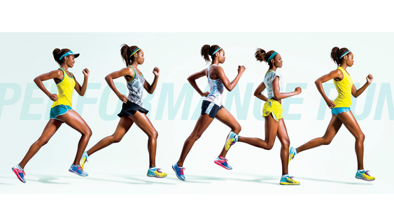 Lookbook Asics runner female