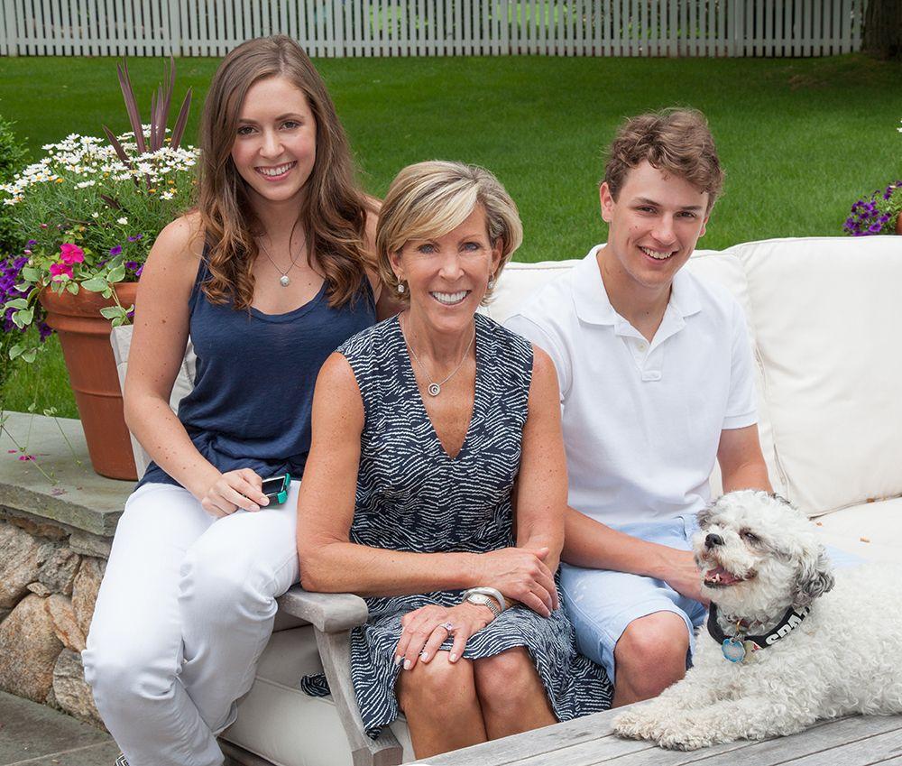 Kathy, David, Nicole - Family Portrait