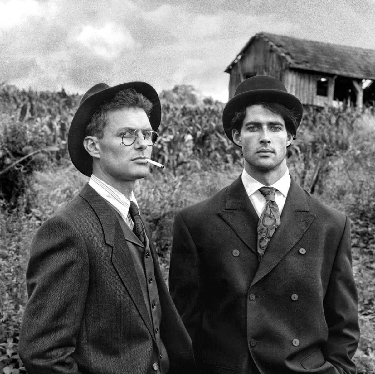 Two Men in hats