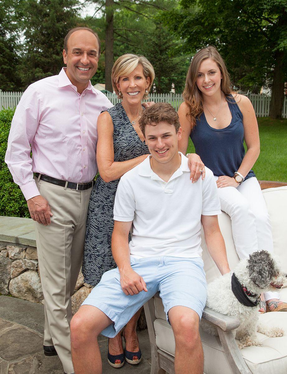 Paul, Kathy, David, Nicole - Family Portrait
