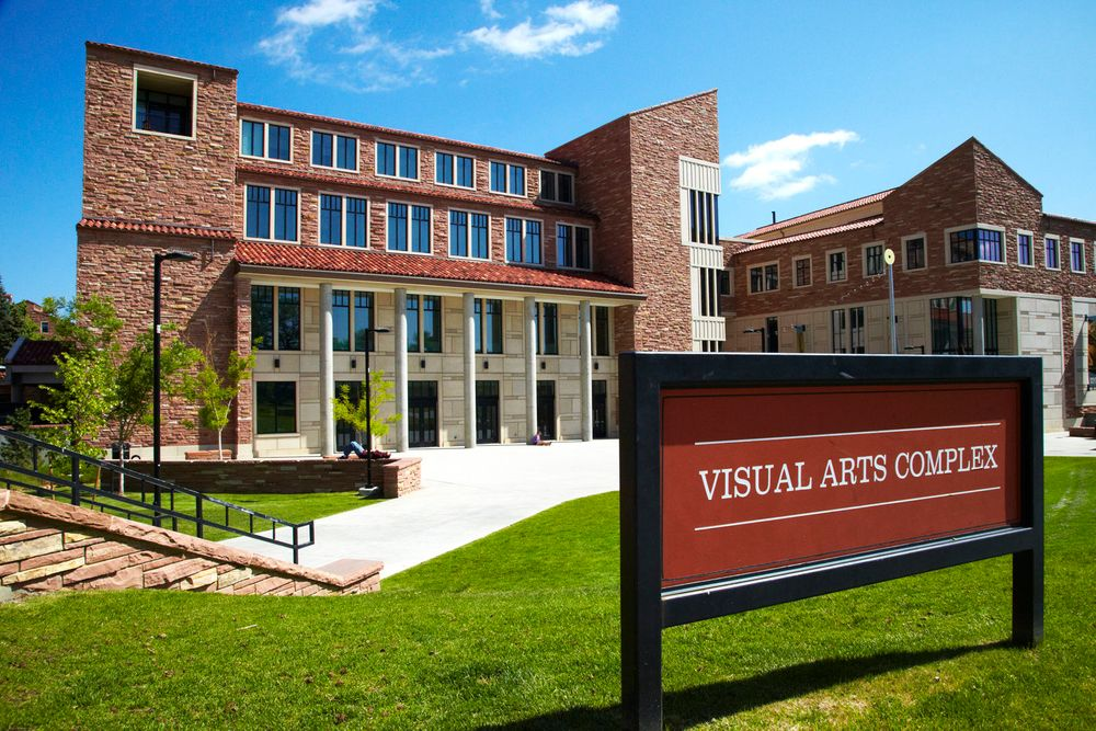 Visual Arts Complex, University of Colorado