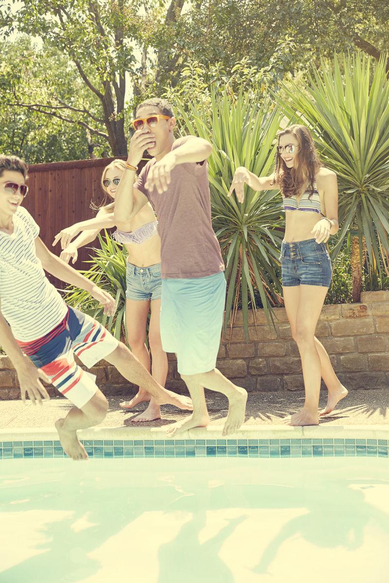 Joesph, Haley, Blake, and Eva