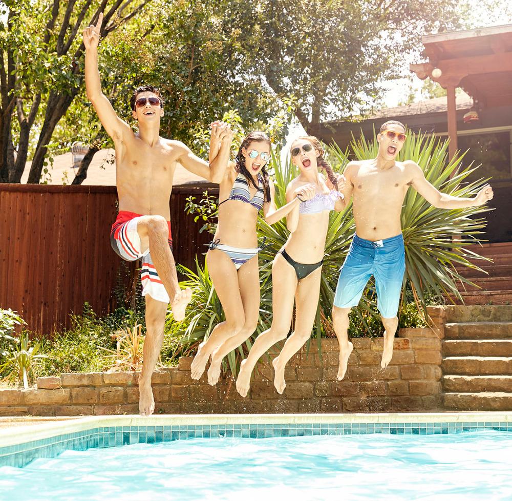 Joseph, Eva, Haley, and Blake