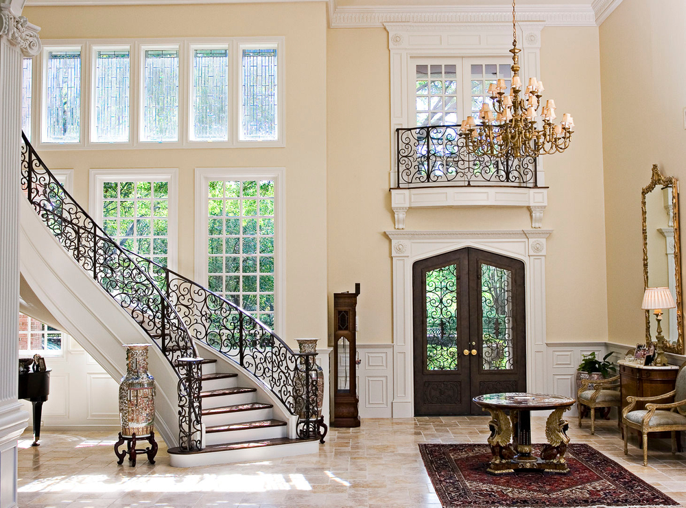 The Foyer at the Oakes' Home