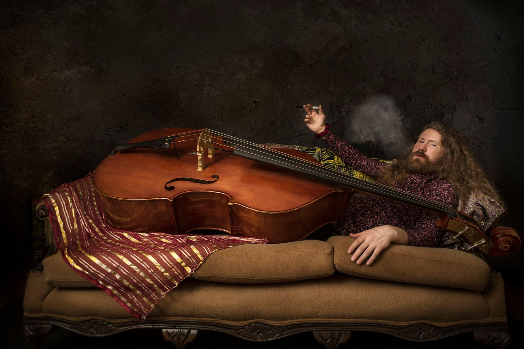 Casey Abrams Chilling