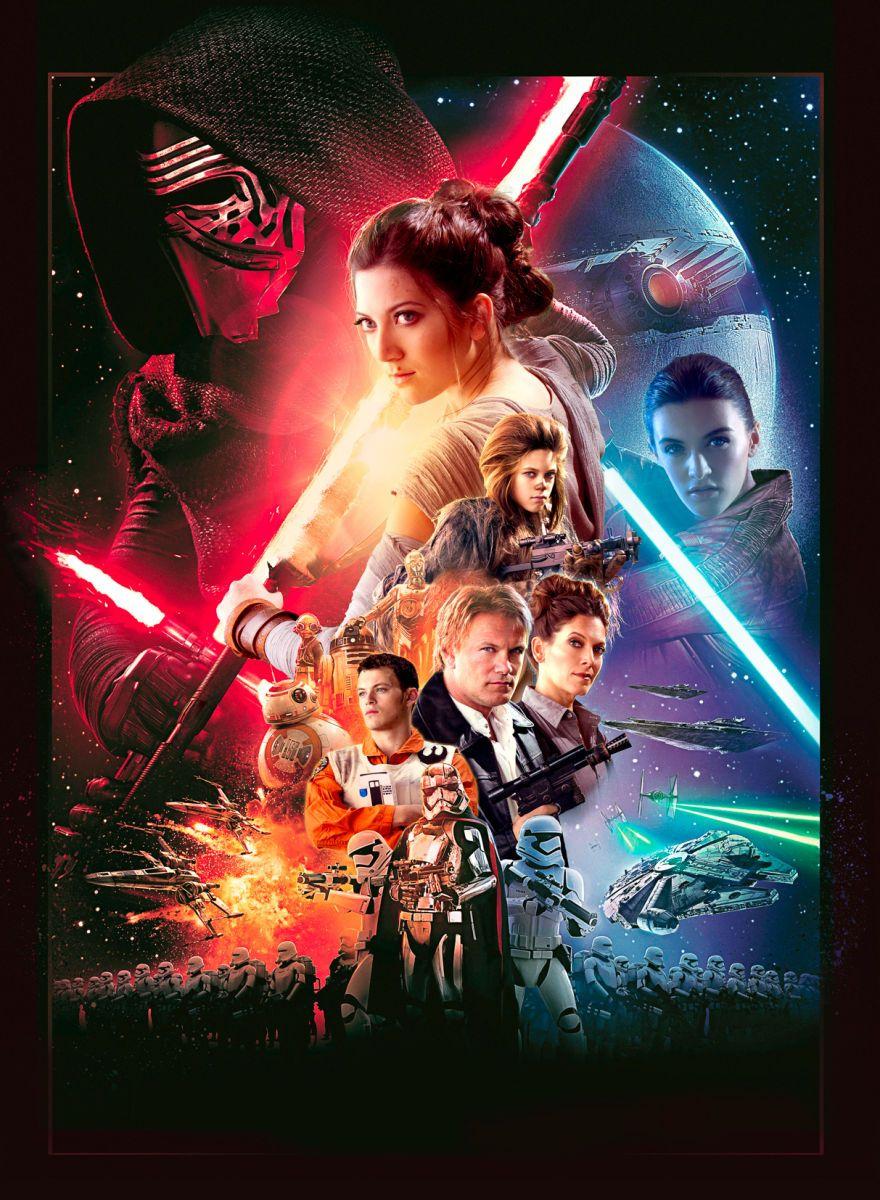 Family Star Wars Portrait