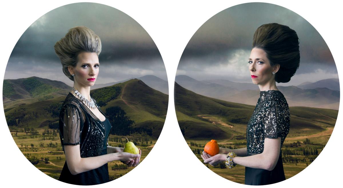 DuPont Sisters as Cinderellas evils step sisters