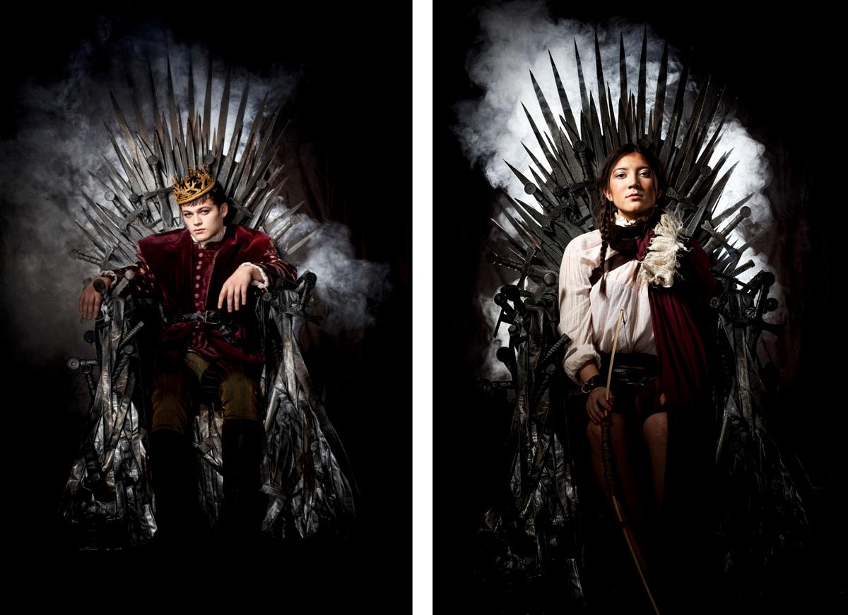 Game of Thrones Family Photoshoot