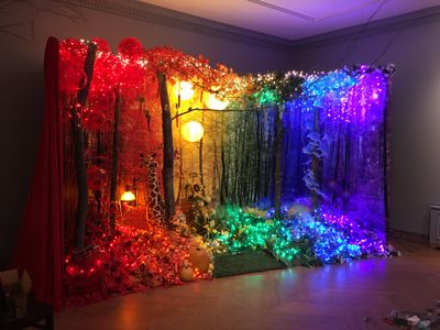 A cColorful Dream Exhibition Installation