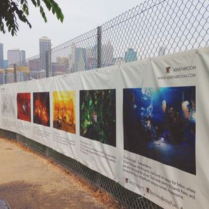 The Fence Exhibition - traveling