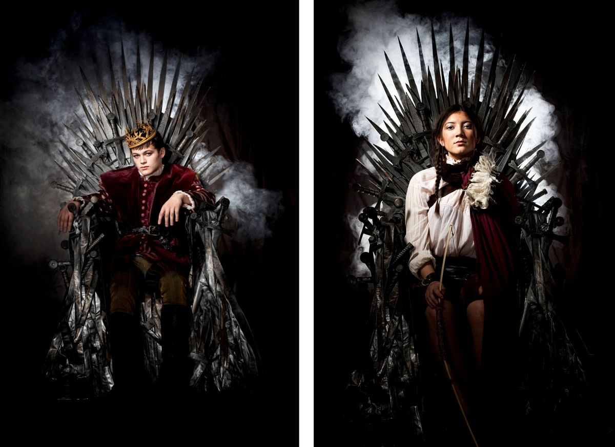 Game of Thrones Family Photoshoot