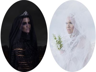The Black Bride and the White One