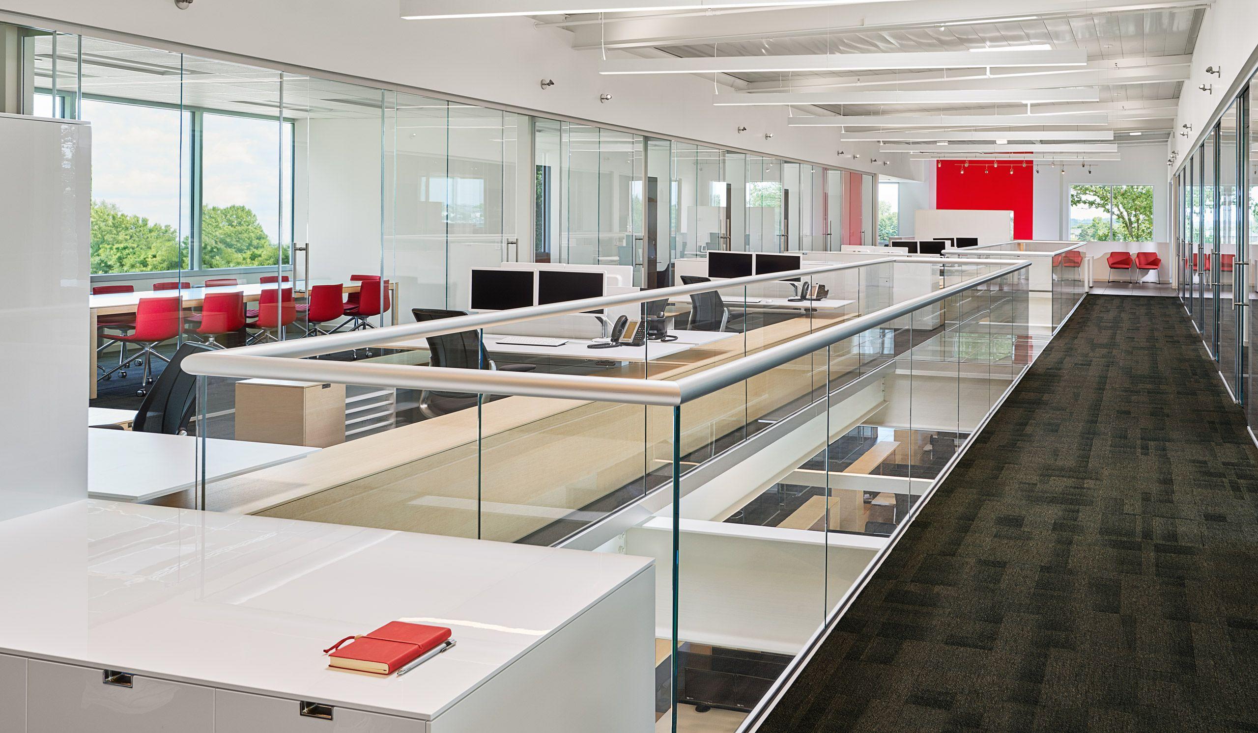 Interior architectural photograph Halcon Corprate office
