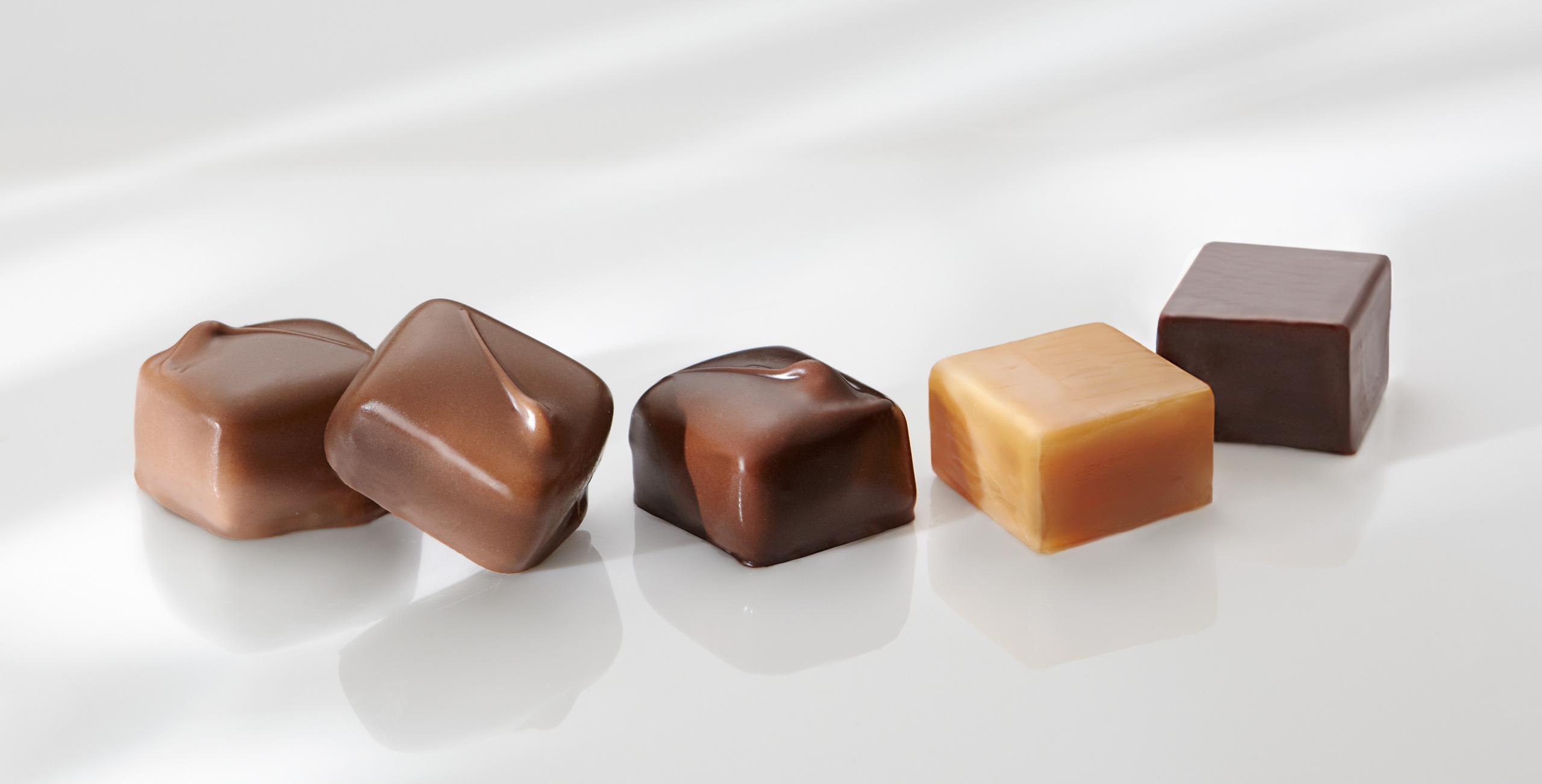 Monastery chocolates caramels food photography