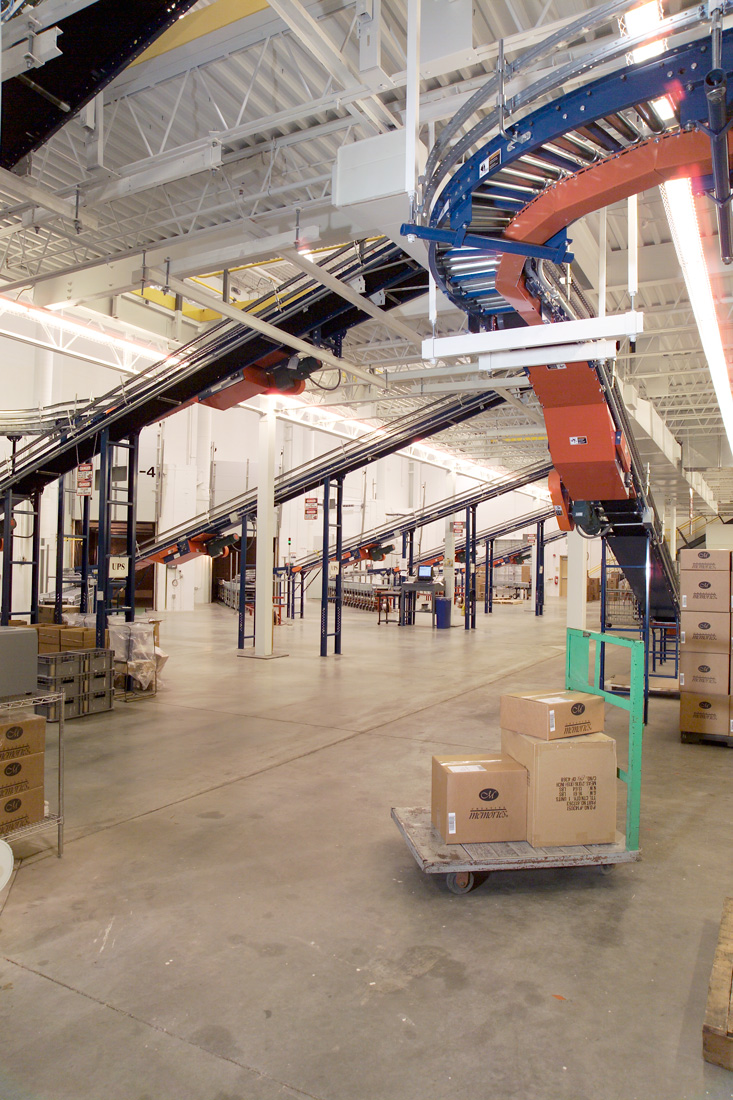 Shipping room at GTL